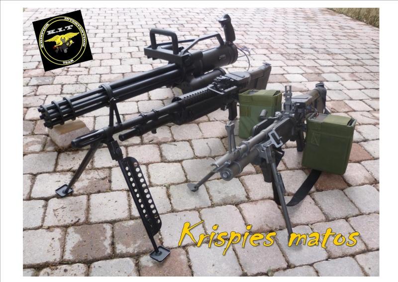 mitrailleuse type m60 Trio_k10