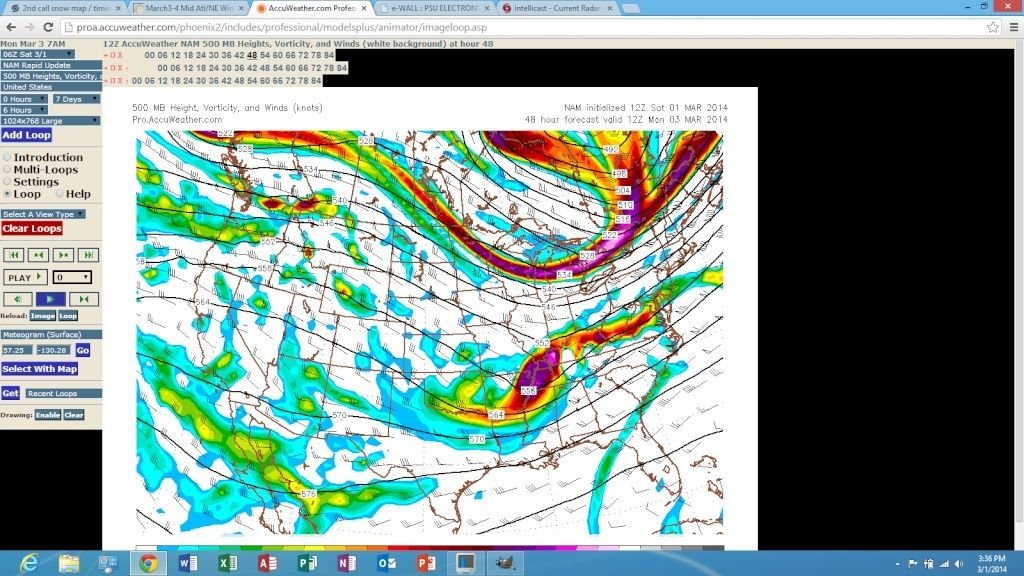 2nd call snow map / timing, March 3rd Storm Discussion 3.0  Scree100