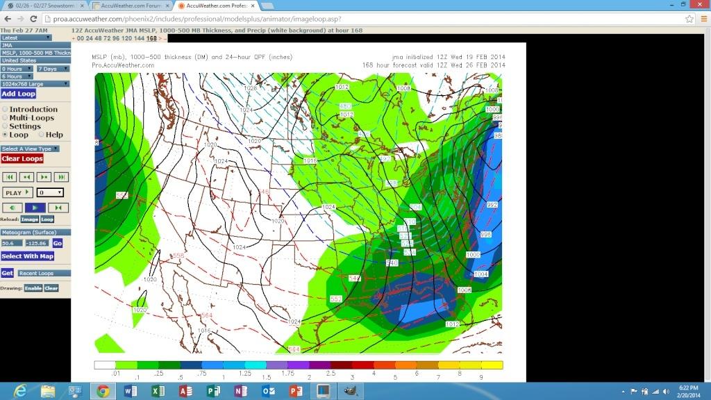 02/26 Snowstorm Potential  Screen85