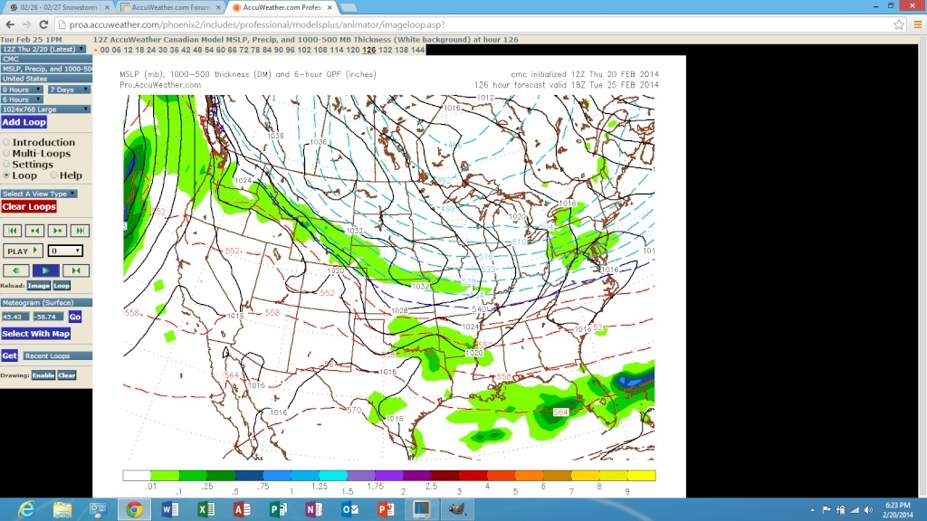 02/26 Snowstorm Potential  Screen86