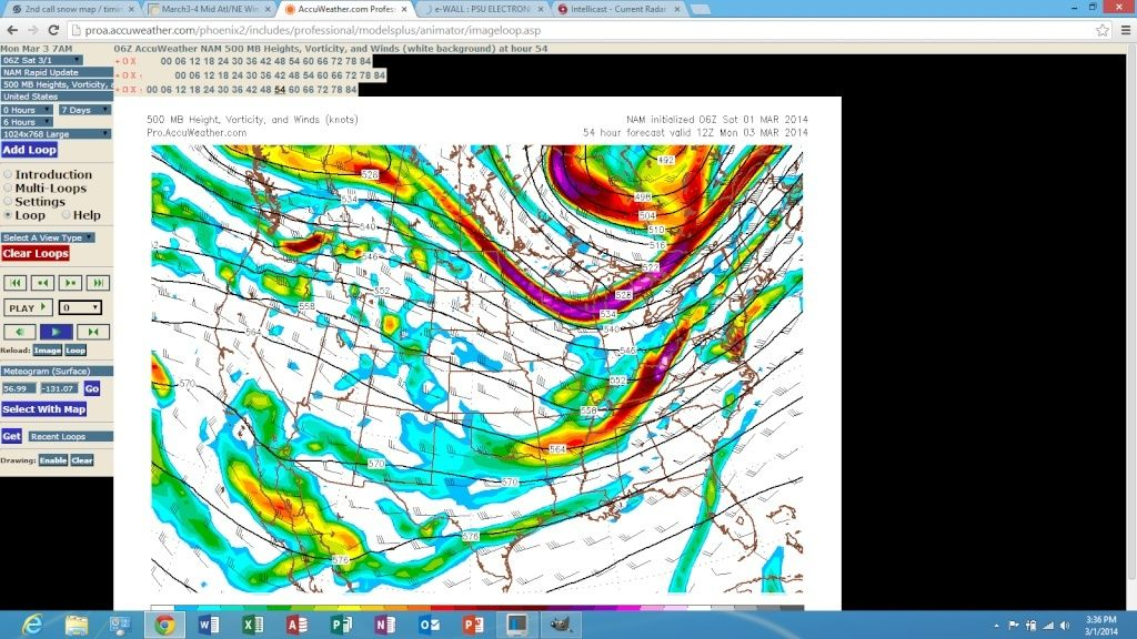 2nd call snow map / timing, March 3rd Storm Discussion 3.0  Screen99