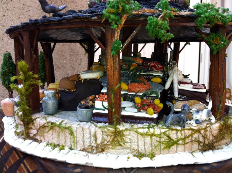 Photos créations accessoires villages FIMO Copie_10