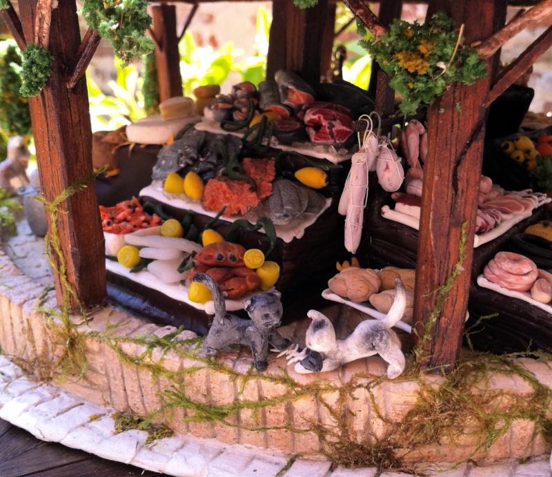 Photos créations accessoires villages FIMO Photos14