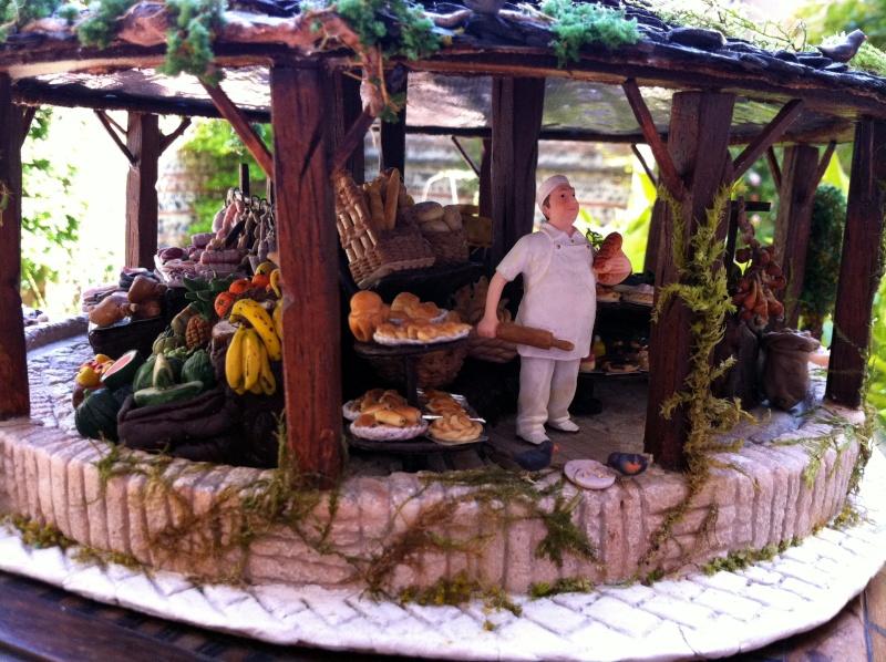 Photos créations accessoires villages FIMO Photos15