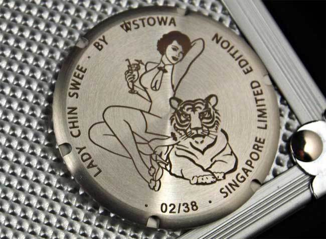 stowa - Stowa Flieger Lady Chin Swee pour Red Army Watches (Singapour) 63857511