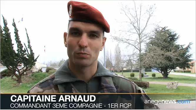 """Retour de la """"3"""" du 1er R.C.P. de Centrafrique 0000re10"""