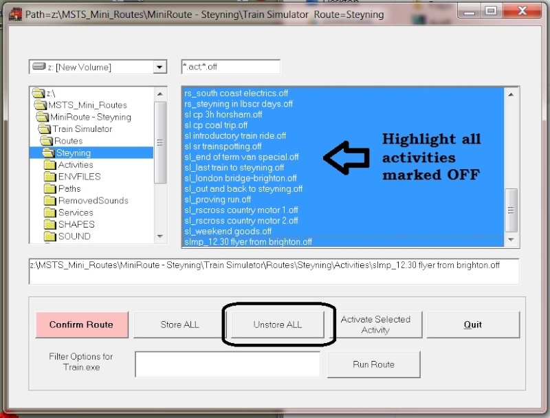 MSTS - Helpful Facts and Links - Part 28 (Converting Mini Routes to a normal MSTS set up) by Bob (Scampispeedway) Offdia10