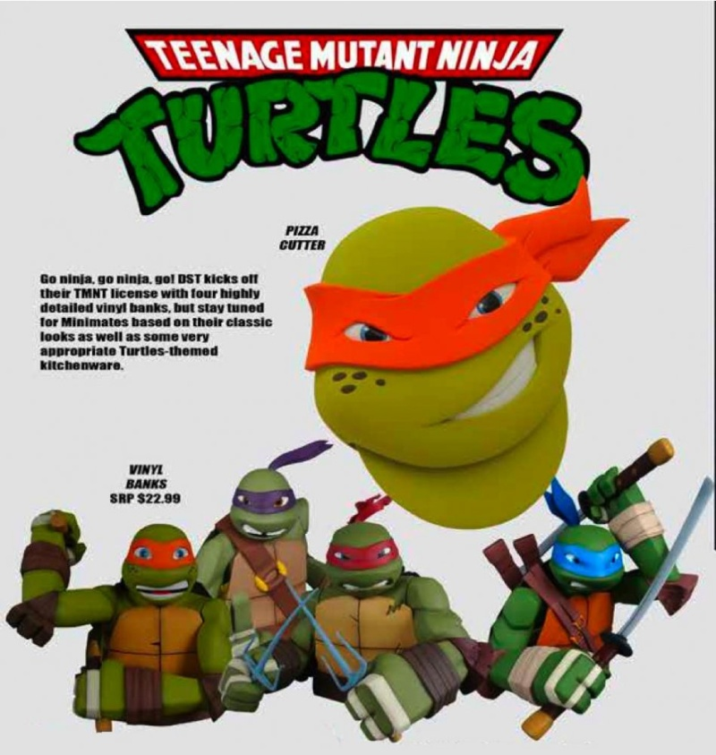 "[Proders] TMNT: Nickelodeon ""Animated""  Diamond Select Dst_ca10"