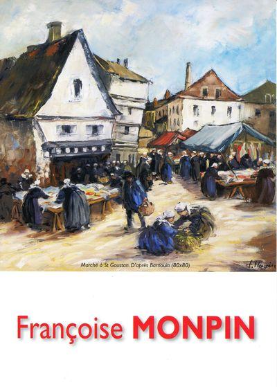 du 18 Avril au 11 Mai 2014, Françoise Monpin exposera à  Pont-Aven  Monpin10