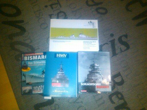 HMV Bismarck als Geburtstagsgeschenk! 13822910