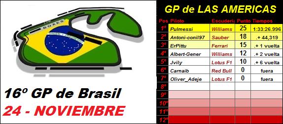 16- GP de BRASIL