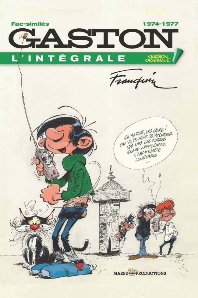 L'intégrale Gaston la Gaffe, version originale Couv_i10