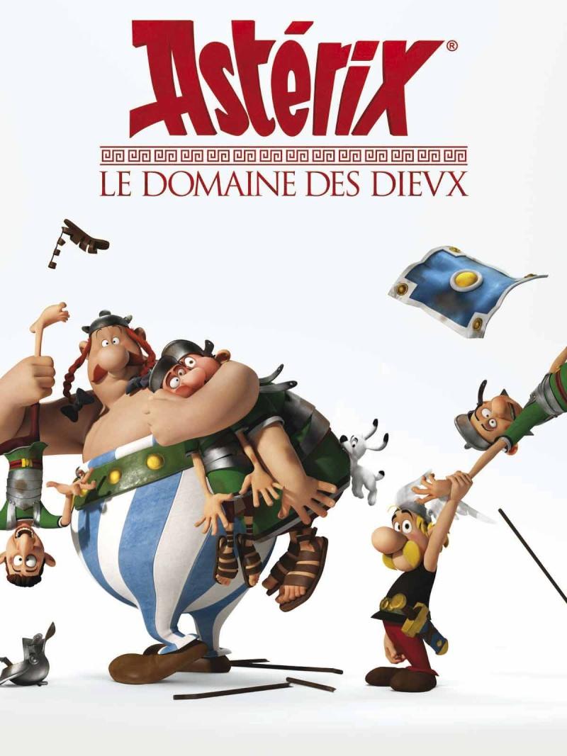 Astérix Le Domaine des Dieux, dessin animée 3D Domain10