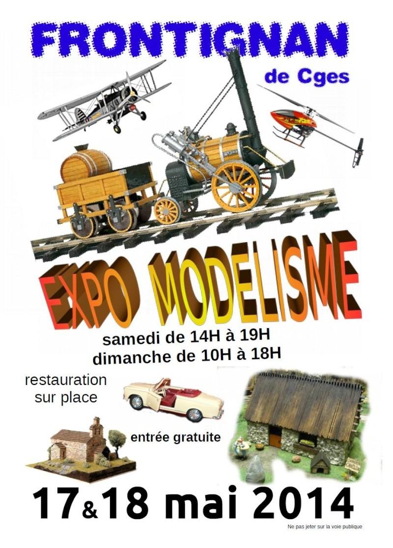 Exposition de Modelisme à Frontignan de Comminges 17 et 18 mai 2014 Expo_m10