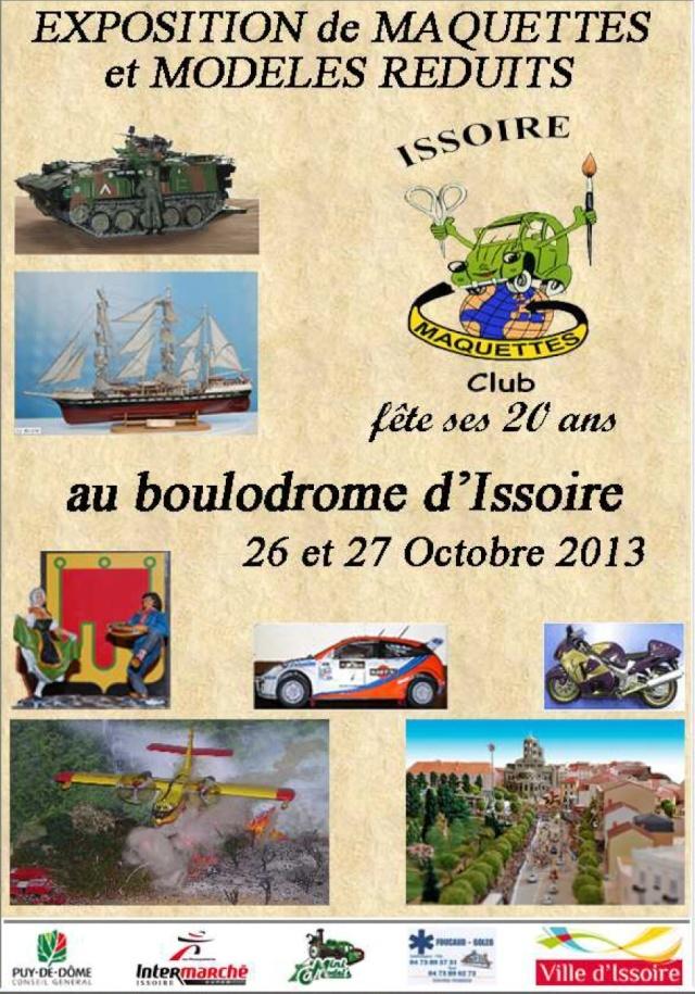 Exposition de Maquettes et Modeles reduits à Issoire (63) 26-27/10/2013 Exposi10