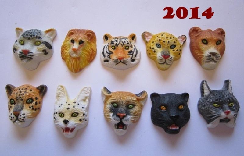 Feves nouveautés 2014 Felins10