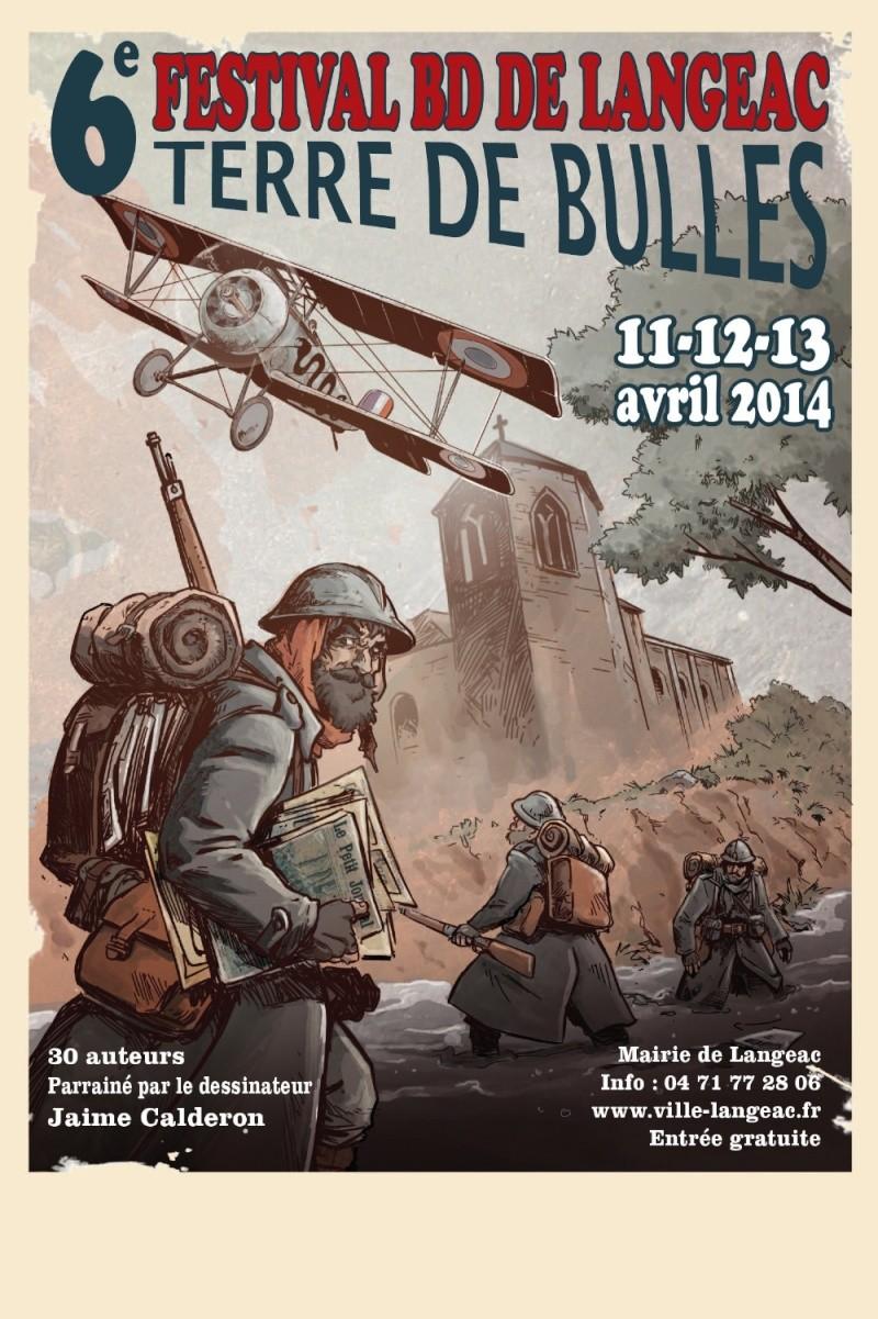 Festival BD de Langeac (43) 11, 12, 13 avril 2014  Festiv12