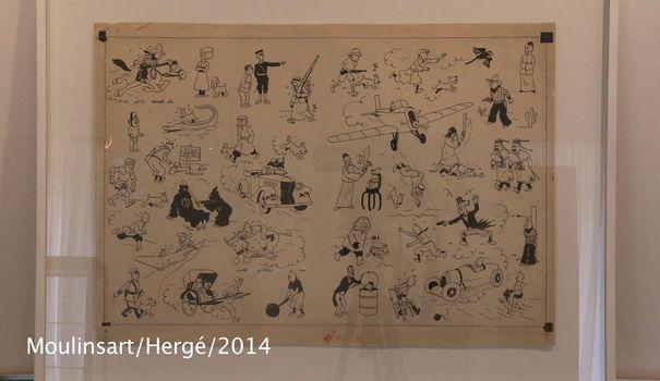 La folie des enchères pour Tintin Tintin10