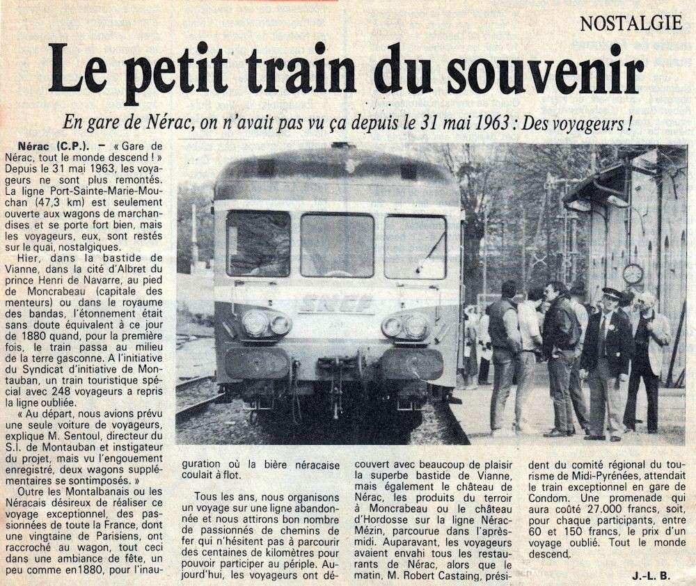 Voyage de Montauban,Nérac,Condom,Mezin de 1985  - Page 2 Nerac_10