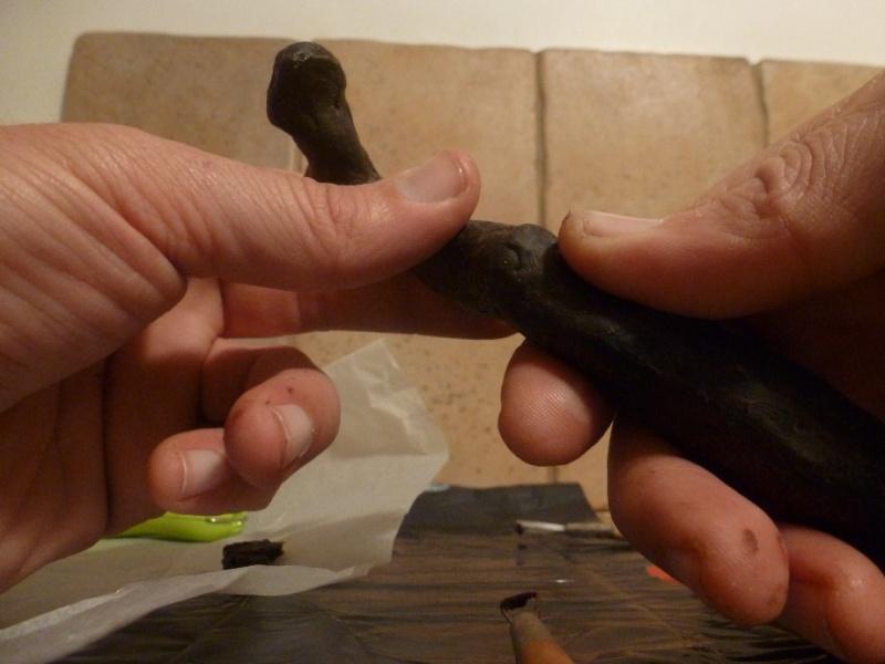 pas à pas d'une petite sculpture en bronze - Page 2 _natu162