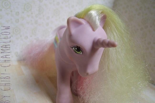♫ Nendo Miku + vintage My Little Pony ♫ Mohair10
