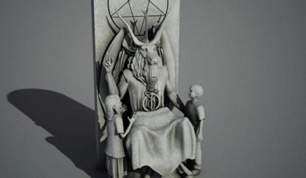 Messe-Noire Satanique 12 Mai aux USA - Page 3 Baphom10