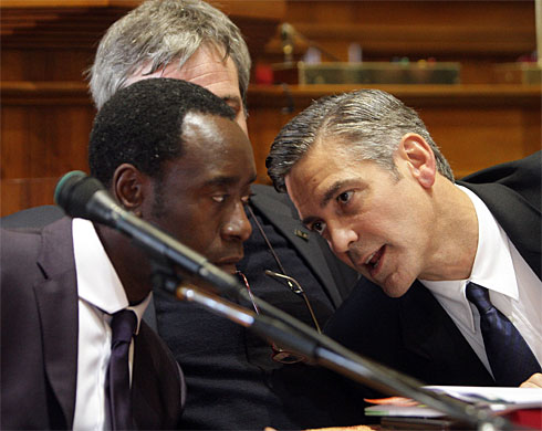 George Clooney & Don Cheadle Honored By Nobel Prize Recipients - November 2007 07-12_11
