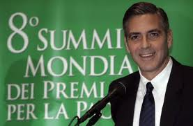 George Clooney & Don Cheadle Honored By Nobel Prize Recipients - November 2007 07-12_12