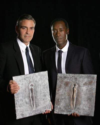 George Clooney & Don Cheadle Honored By Nobel Prize Recipients - November 2007 07-12_17