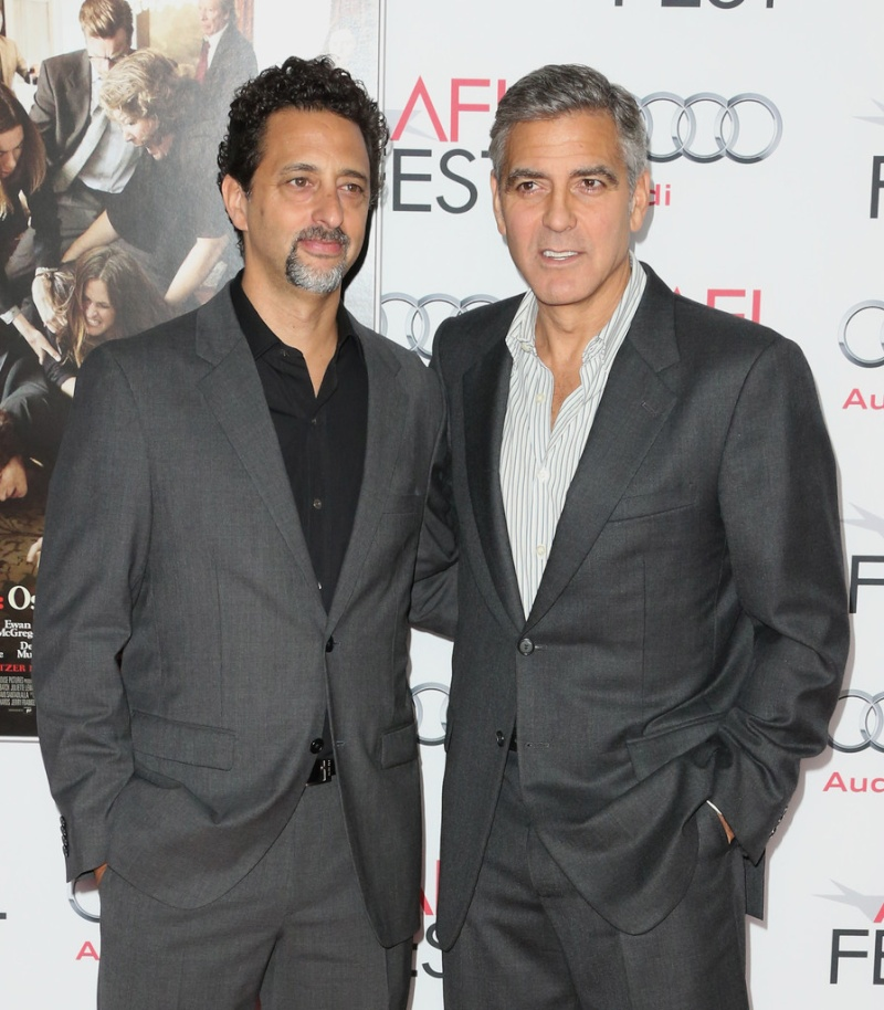 George Clooney at the AFI film fest, 8 Nov 2013, at a screening of August Osage County - Page 2 13-11_29