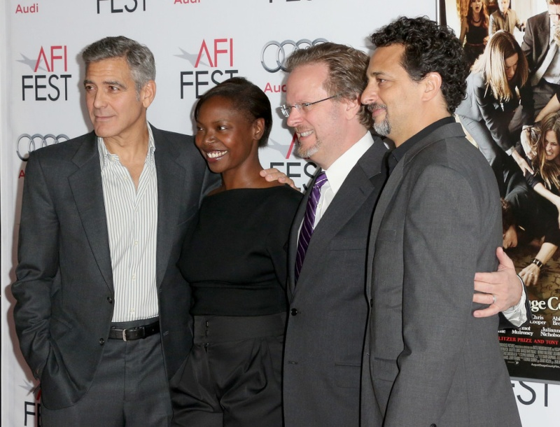George Clooney at the AFI film fest, 8 Nov 2013, at a screening of August Osage County - Page 2 13-11_31