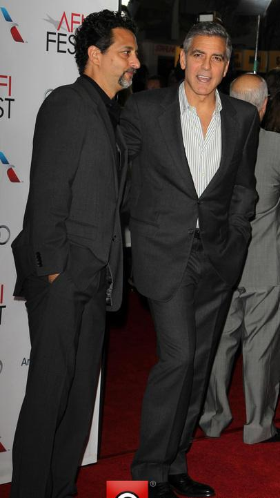 George Clooney at the AFI film fest, 8 Nov 2013, at a screening of August Osage County - Page 2 13-11_37