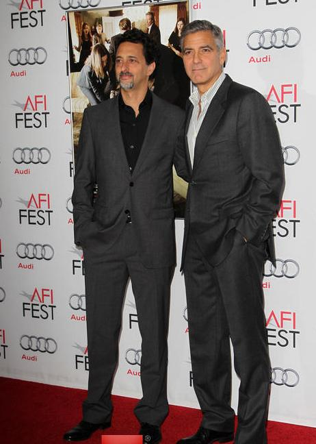George Clooney at the AFI film fest, 8 Nov 2013, at a screening of August Osage County - Page 2 13-11_39