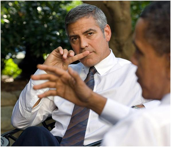 Clooney's Passion For Global Goodwill Gb10