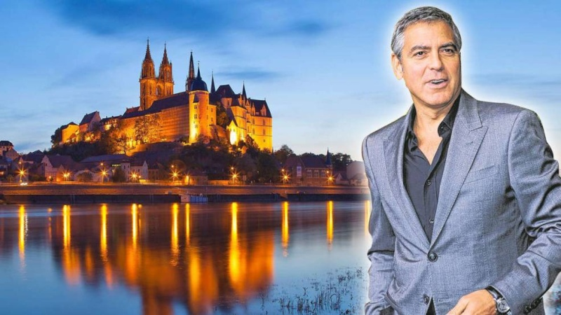 Is George Clooney planning to film in Meissen? George13