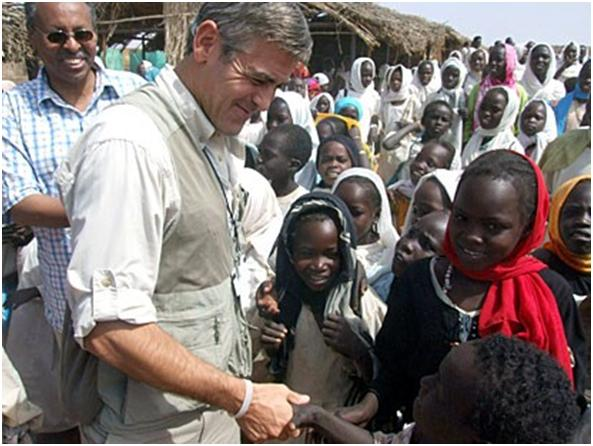 Clooney's Passion For Global Goodwill Gtc10