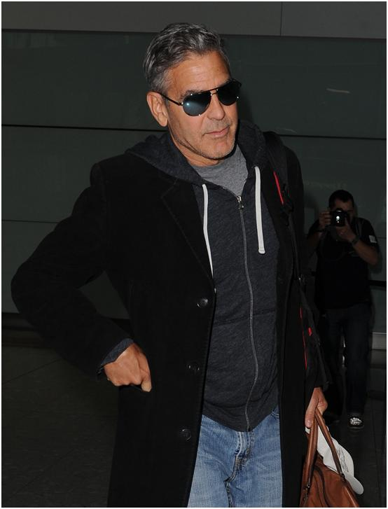 George Clooney Arrives in Valencia For Tomorrowland Valenc10