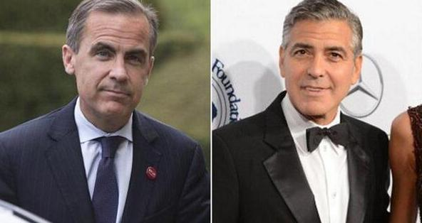 Mark Carney and George Clooney to appear in the same room Ztwitt10
