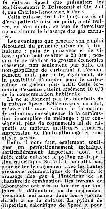 la culasse Speed    et la boite de vitesse électromagnétique Cotal Export90