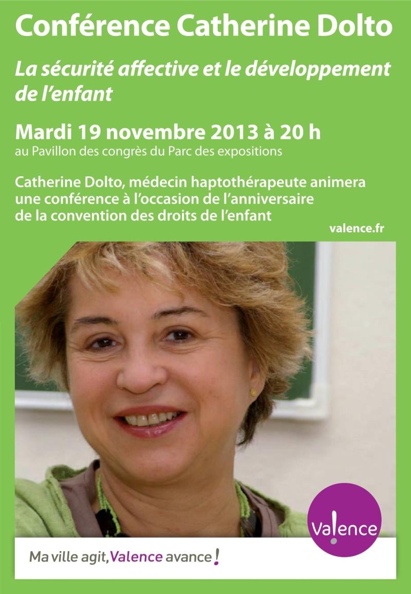 Conférence Catherine Dolto à Valence Dolto10