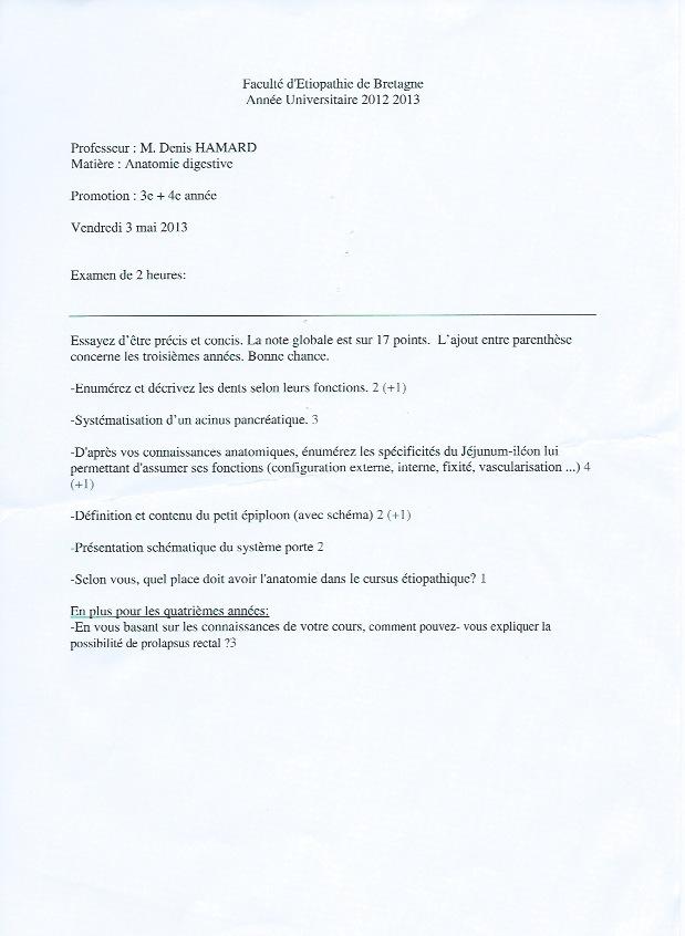 Rennes - 3ème année Anatom10