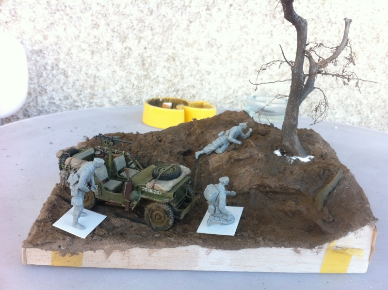 1/35 diorama Jeep Willys reco Photo_10