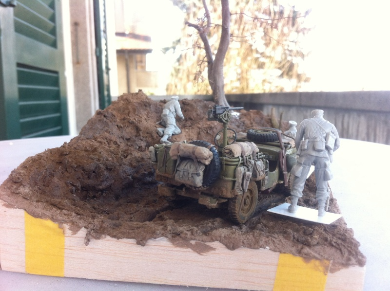 1/35 diorama Jeep Willys reco Photo_11