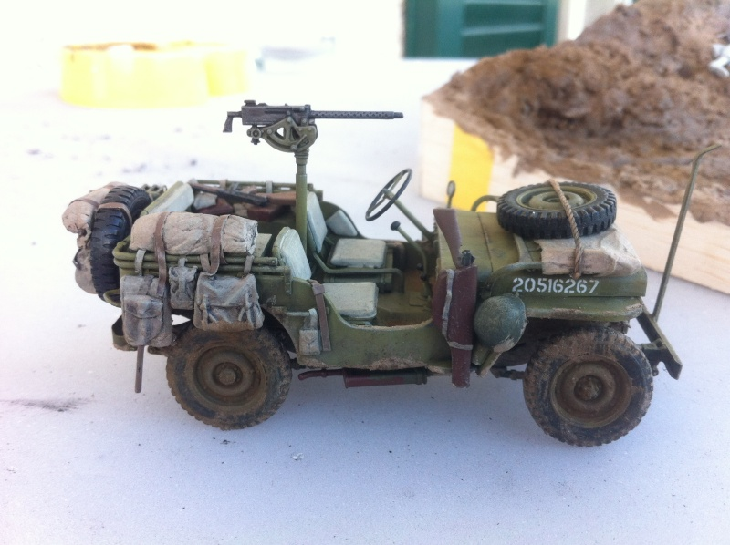 1/35 diorama Jeep Willys reco Photo_27