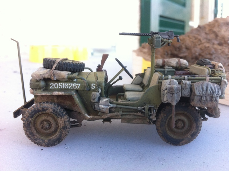 1/35 diorama Jeep Willys reco Photo_29