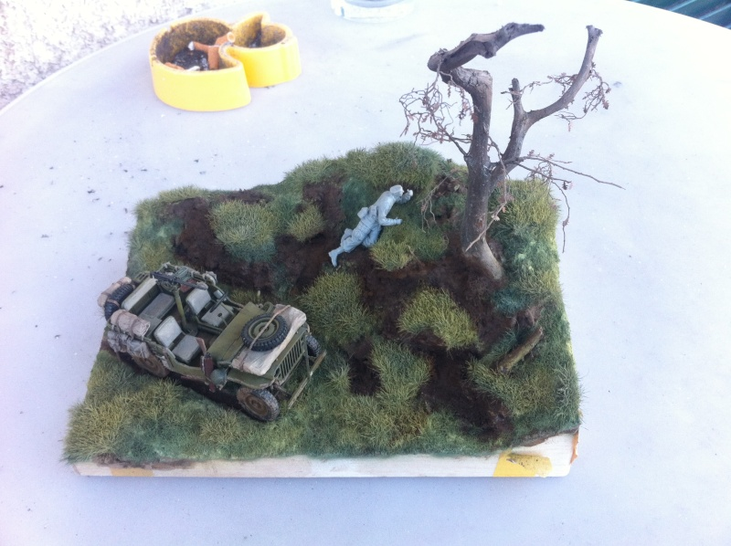 1/35 diorama Jeep Willys reco Photo_32