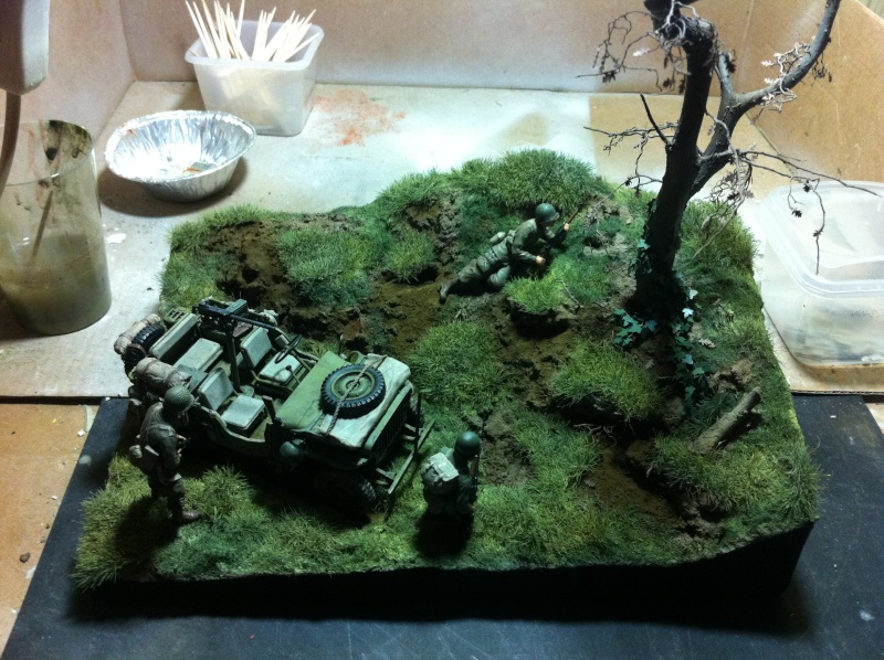 1/35 diorama Jeep Willys reco Photo_38