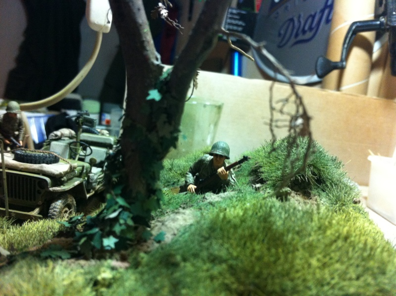 1/35 diorama Jeep Willys reco Photo_39