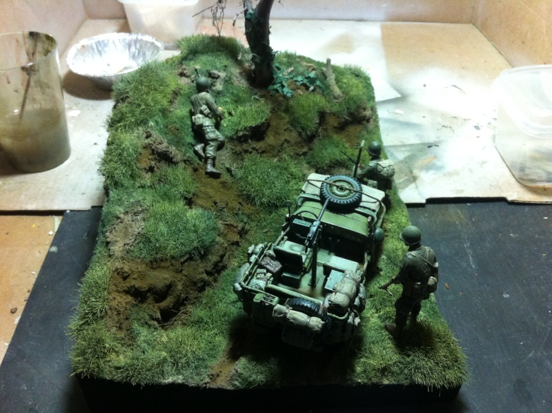 1/35 diorama Jeep Willys reco Photo_40