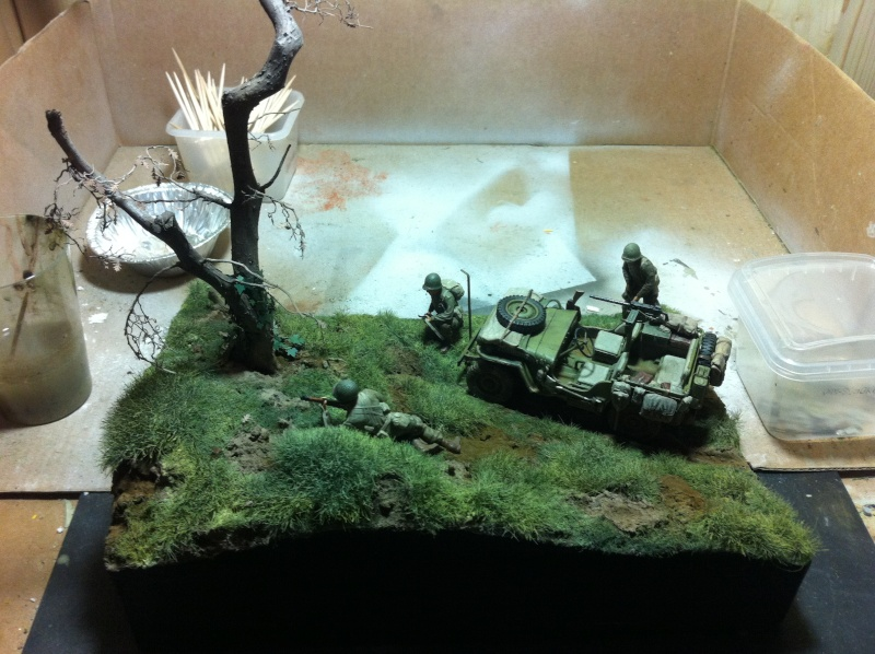 1/35 diorama Jeep Willys reco Photo_41